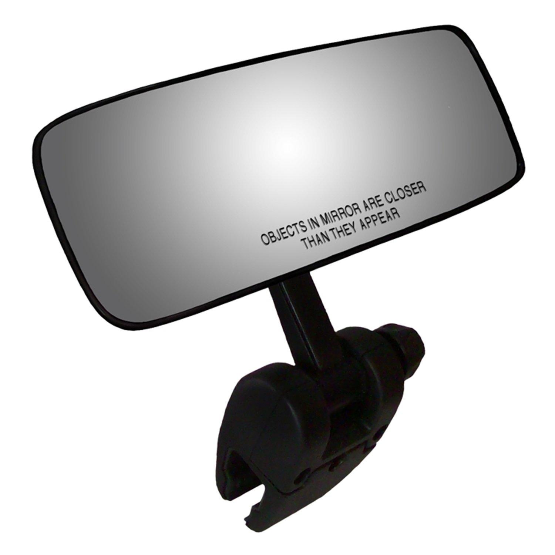 CIPA 11083 COMP II Black 4'' x 11'' Marine Mirror by CIPA