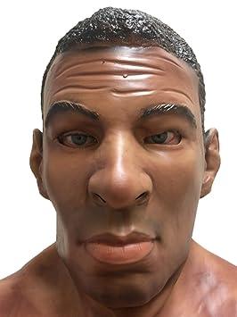 febfdc15529d17 Homme noir réaliste ALI boxeur masque pleine tête Cassius célèbre champ de  célébrité masques déguisements