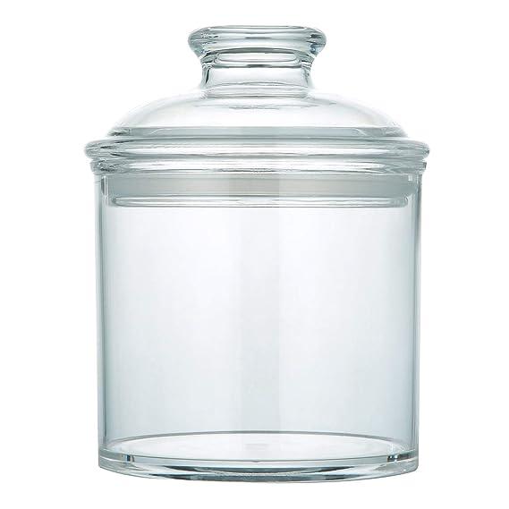 Amazon.com: Mantto - Tarro de cristal transparente con tapa ...