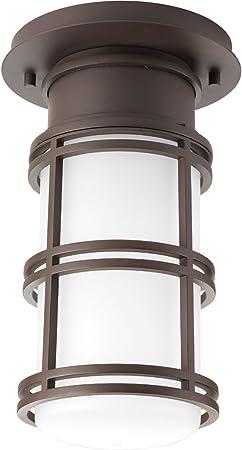 Antique Bronze Progress Lighting P6536-2030K9 1-9W LED One-Light Hanging Lantern