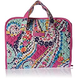Vera Bradley Iconic Hanging Travel Organizer, Signature Cotton, Wildflower Paisley