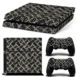 Cheap Gam3Gear Vinyl Sticker Pattern Decals Skin for PS4 Console & Controller- Metal Plate