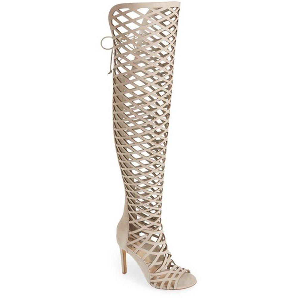 Vince Camuto Women's Keliana Knee High Boot B01MSFKUWY 7.5 B(M) US|Safari