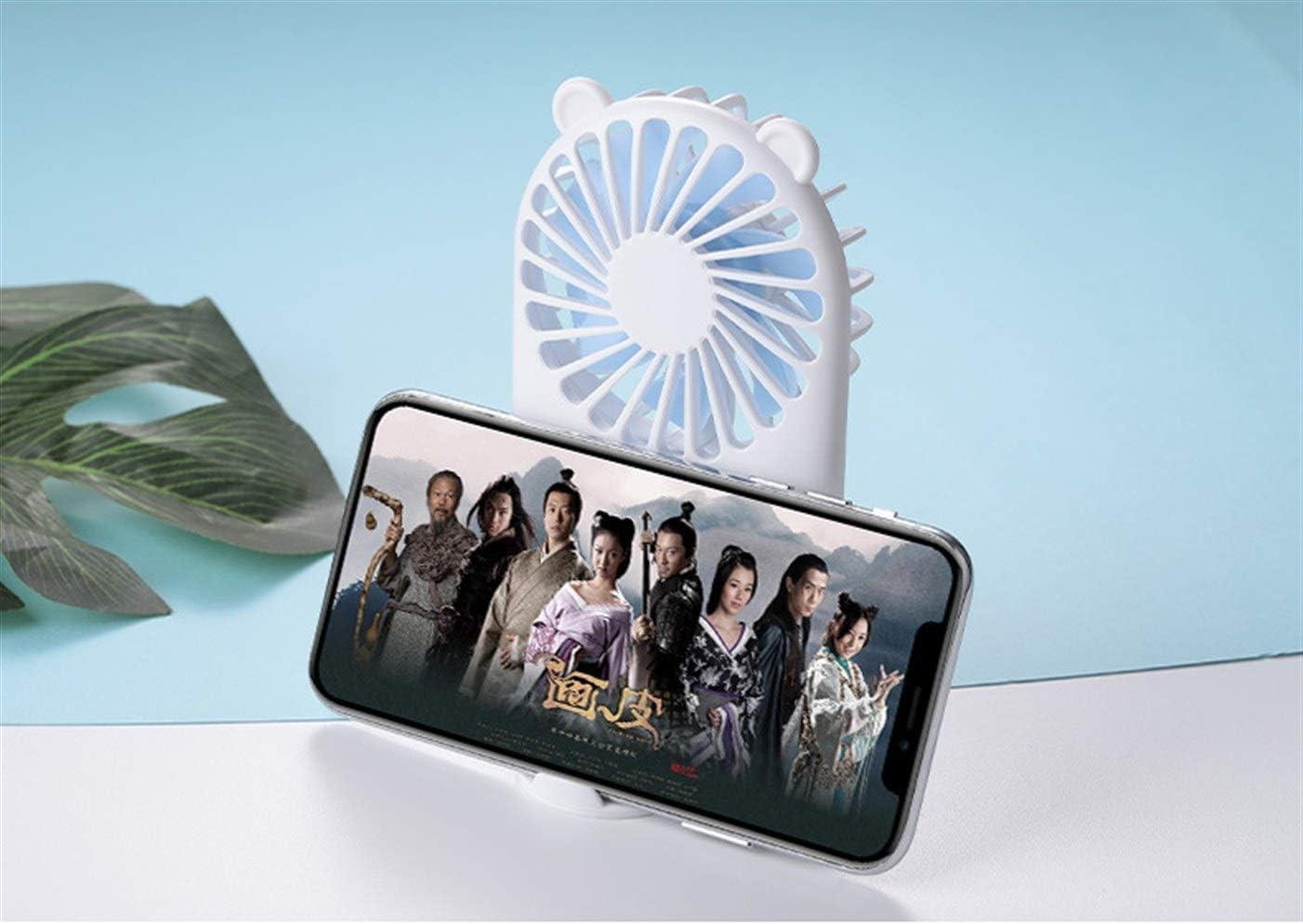 Pocket Handheld Fan ricaricabile mini ventilatore USB piccolo ventilatore portatile desktop Pocket Mini Fan (Color : 7) 6