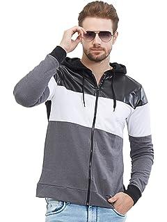 89195b674965 AWG - All Weather Gear Men s Cotton Hoodie Sweatshirt with Zip ...