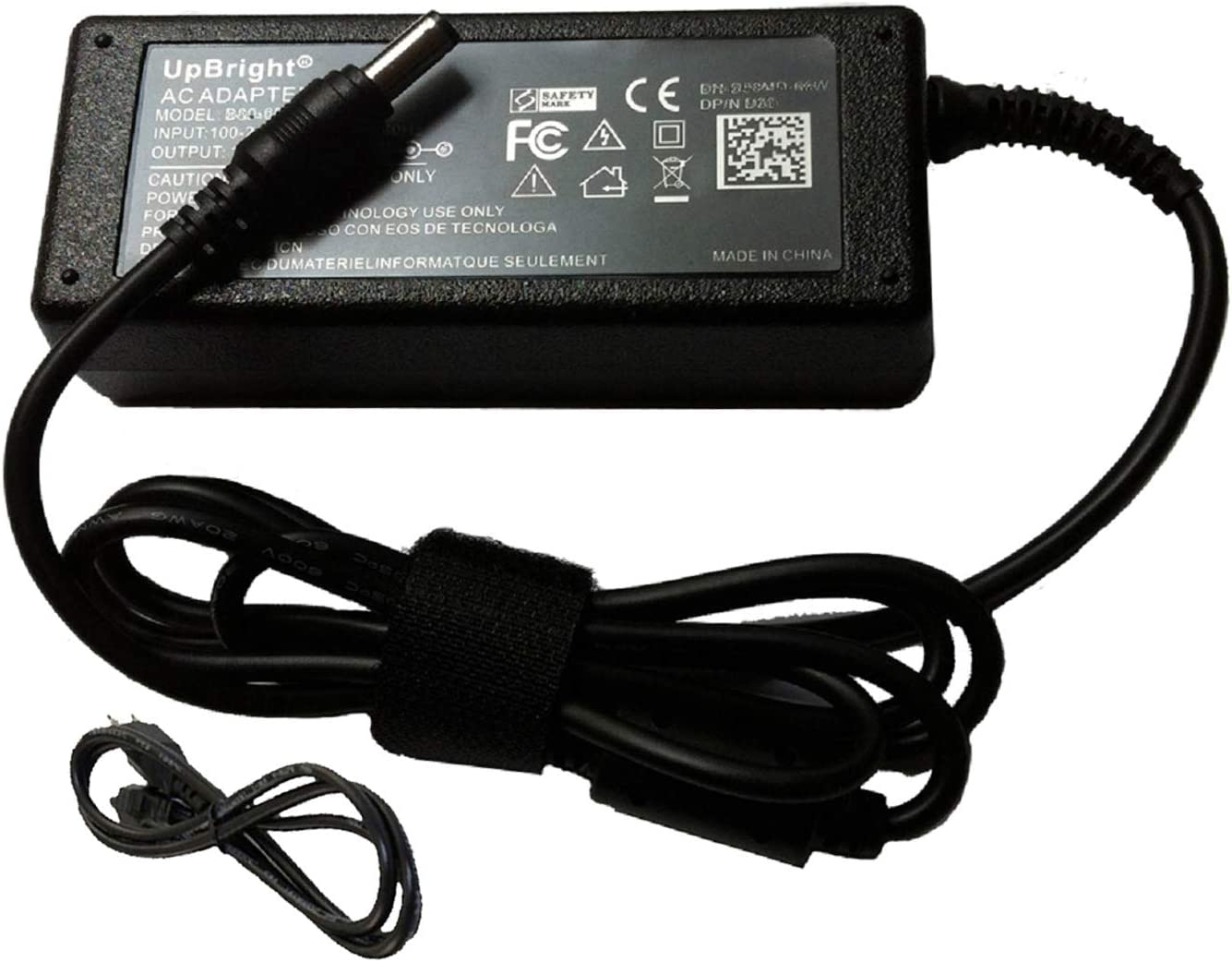 UpBright 12V AC/DC Adapter Replacement for FSP FSP040-DGAA1 Delta ADP-40DD B Check Point 9NA0402144 Philips Dell S2340 2230MX S2240M S2216H S2340L HIPRO HP-O2040D43 12VDC 40W (w/OD:5.5mm Tip) Charger
