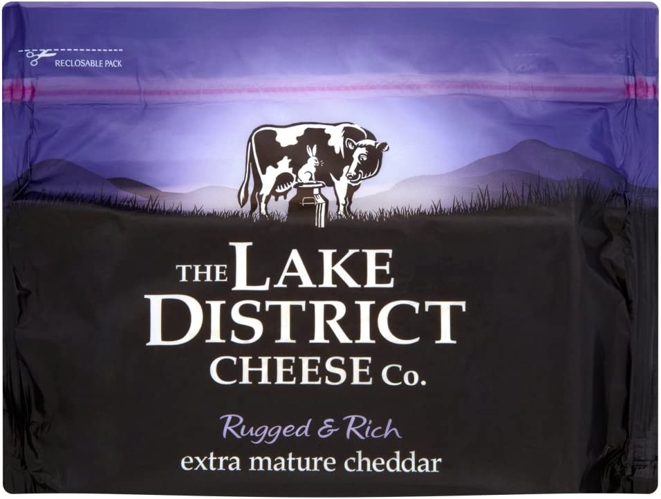 Lake District Extra Mature Cheddar Cheese, 350 g: Amazon.co.uk: Grocery