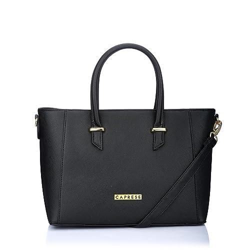 Buy Caprese Porsche Women S Tote Bag Black At Amazon In