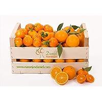 Caja Mixta de Naranjas de Valencia 10 kg y Mandarinas de Valencia 5 kg