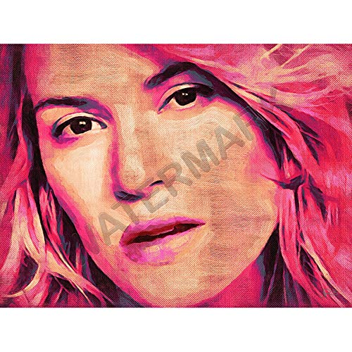 JR Bouvier Kate Winslet Actress Large Art Print Poster 18x24 inch