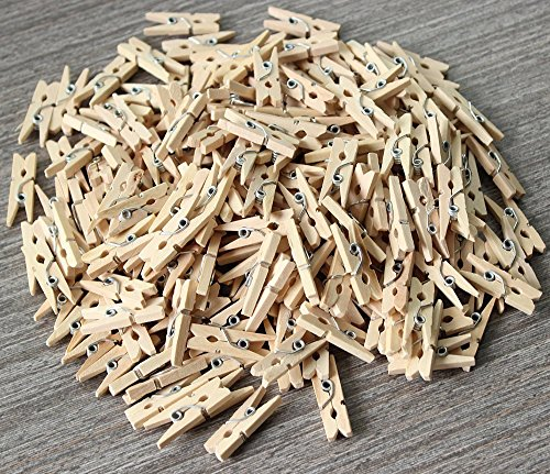 Annic Strong Wooden Mini Clothespins product image