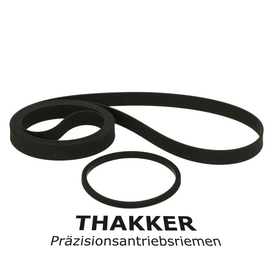 Technics SL-3 Original Thakker Riemen-Set Plattenspieler Belt Antriebsriemen GID 4367