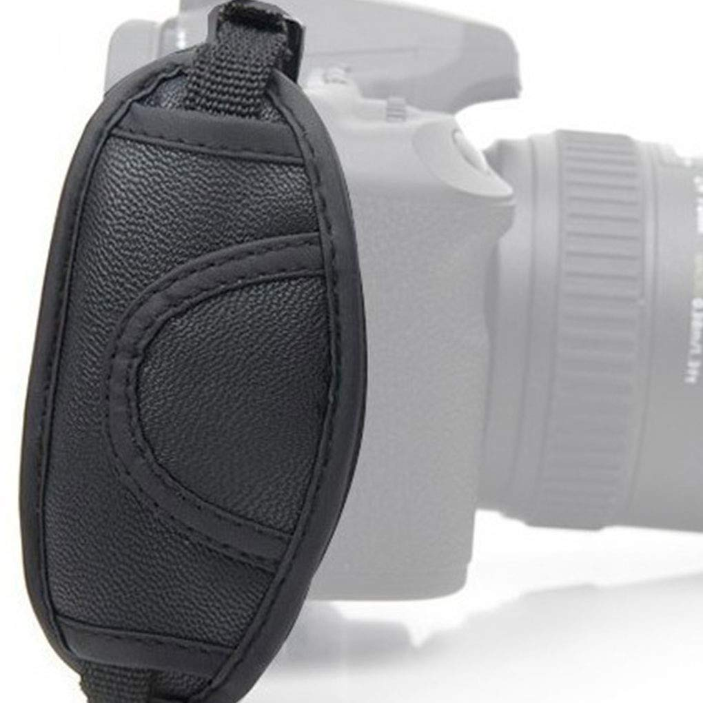Fangfeen Universal de reemplazo SLR Oval Correa de mu/ñeca de la c/ámara de la Correa de Mano Suave Banda para la mu/ñeca para Nikon//Canon c/ámara r/éflex Digital