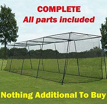 Batting Cage (01. 10u0027h X 10u0027w X 40u0027 Complete Frame U0026