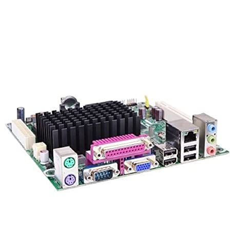 Intel Atom D425/Intel NM10/DDR3 Mini ITX Motherboard, Bulk BLKD425KT