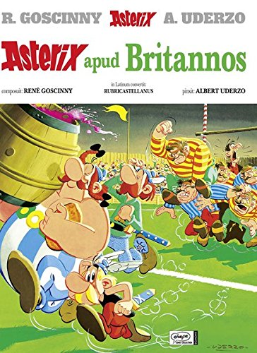 Asterix apud Britannos (Latino) Copertina rigida – 1 gen 2000 René Goscinny Albert Uderzo Egmont Comic Collection 3770400593