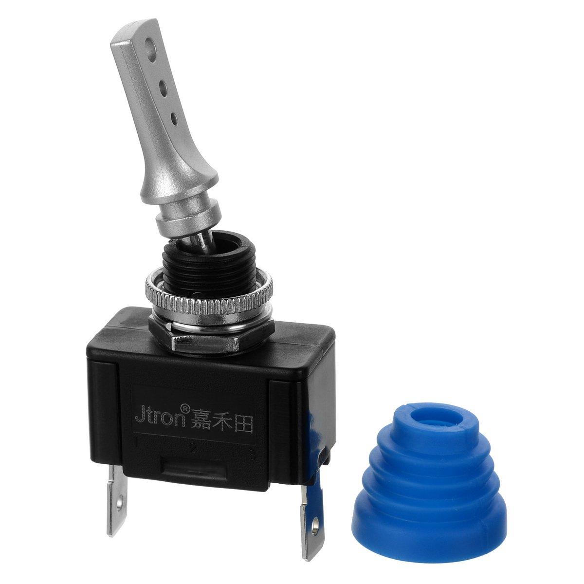 Jtron Waterproof Switch Toggle Rocker Spst Round All Electronics Corp Dc12v 40a 24v 20a On Off Automotive