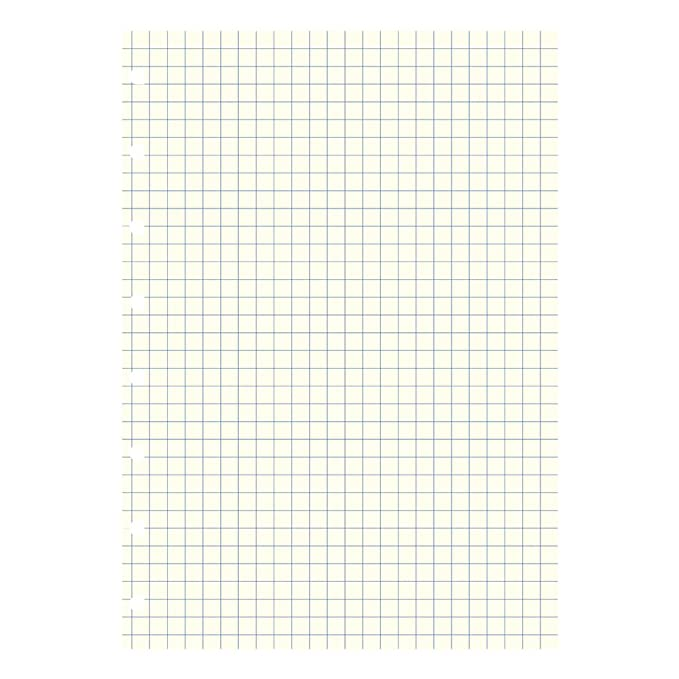 Filofax Notebooks A5 Quad Journal Refill, Movable, 8 1/4 x 5 13/16 inches, 32 Cream Sheets Fits Filofax Refillable A5 (B152905U)