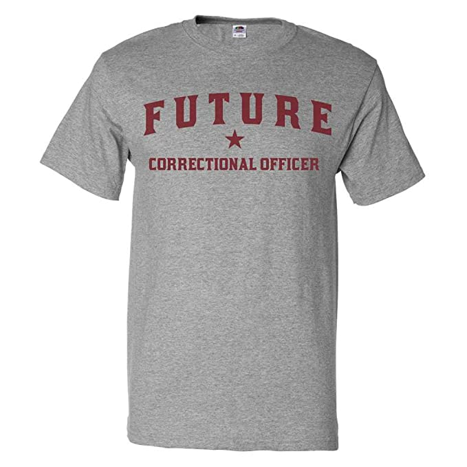 7e2d760e8 ShirtScope Future Correctional Officer T Shirt Funny Correctional Officer  Tee Small