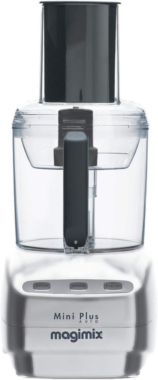 Magimix Mini Plus 400W 1.7L Cromo - Robot de cocina (1,7 L, Cromo, Botones, Acero inoxidable, 400 W, 155 mm): Amazon.es: Hogar