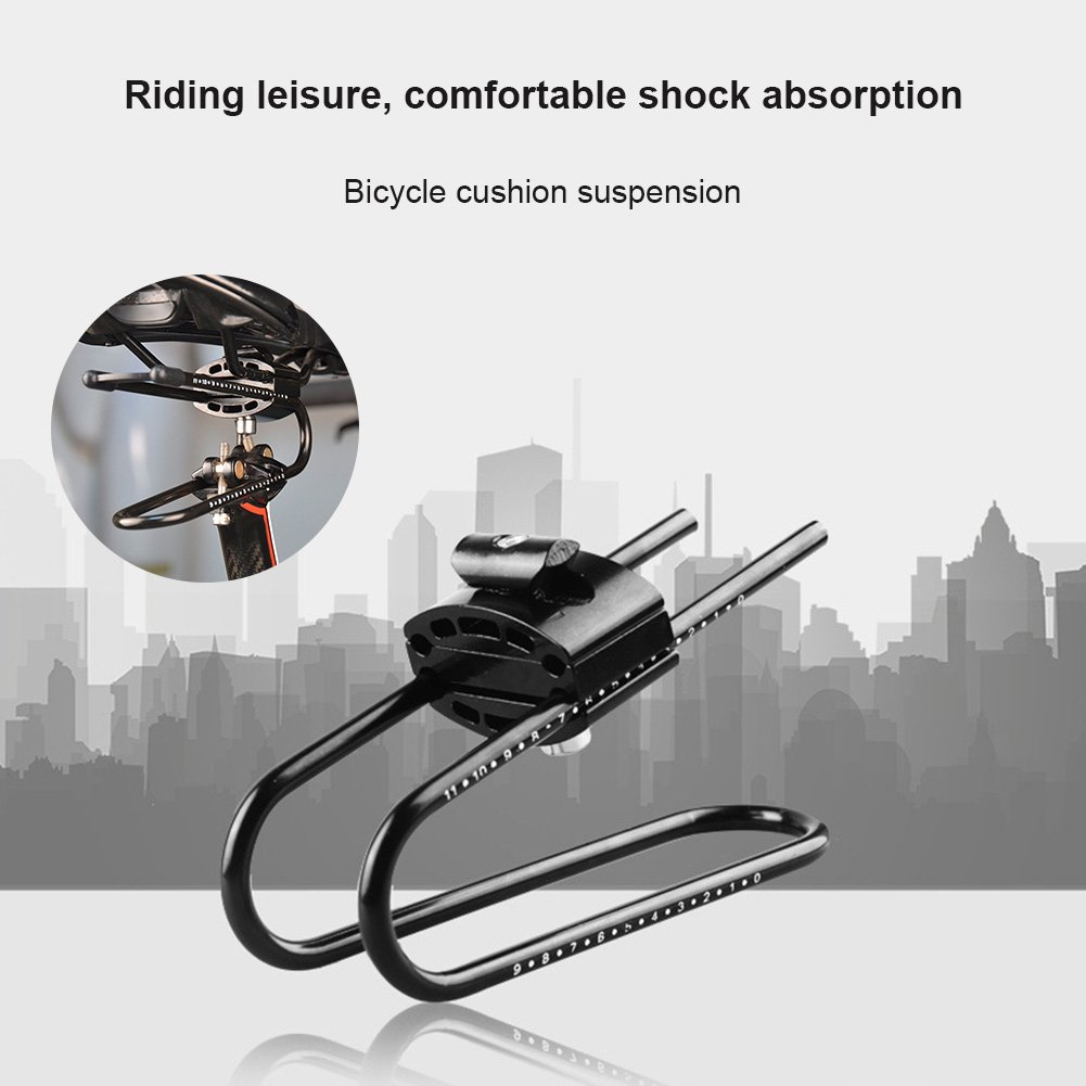 Symboat Bicycle Saddle Suspension Device Alloy Spring Steel Bike Shock Absorber for Mountain Bike Parts