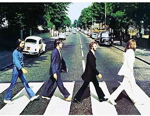 The Beatles Abbey Road 3d Poster Wall Art Decor Print 11 8 X 15 7 Lenticular