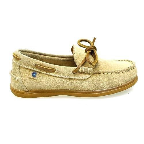 Conguitos Mocasines de Piel con Lazo FV1 27103 Arena: Amazon.es: Zapatos y complementos