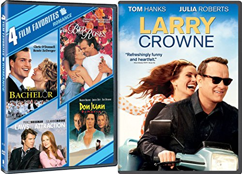 Romantic Comedy 5-Movie Collection - Larry Crowne, The Bachelor, Laws of Attracrtion, Bed of Roses & Don Juan 5-DVD Bundle