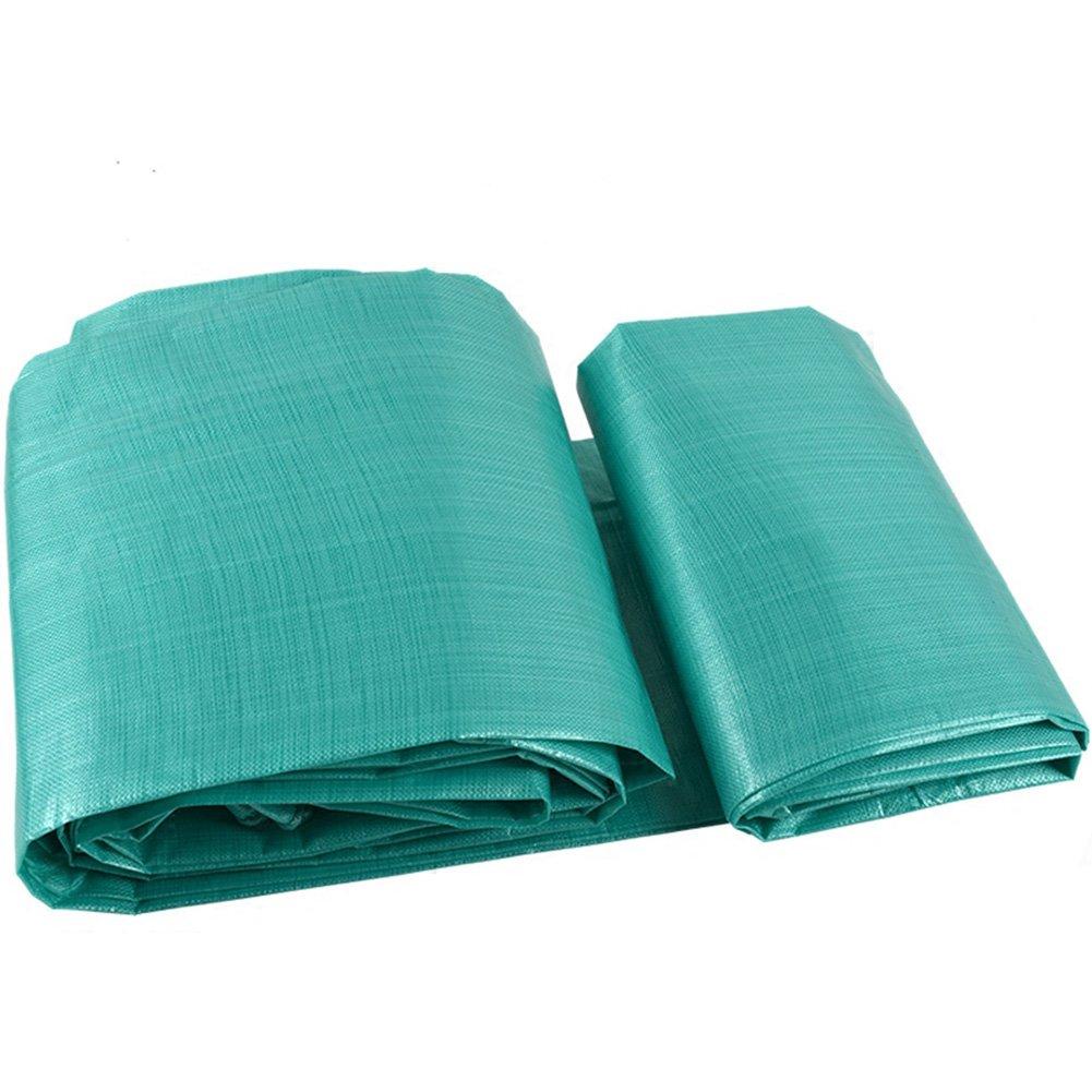 ZHANWEI ターポリンタープ Tarp テント タープ 厚い防水布オーニング 雨篷 厚い オーニング 耐寒性 日焼け止め シェード リノリウム ポリエチレン トラック 車、 緑 (色 : Green, サイズ さいず : 8x12M) B07FYHQGVS 8x12M|Green Green 8x12M