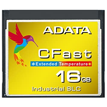 ADATA isc3e 16 GB de Ancho Temperatura Industrial SLC CFast ...