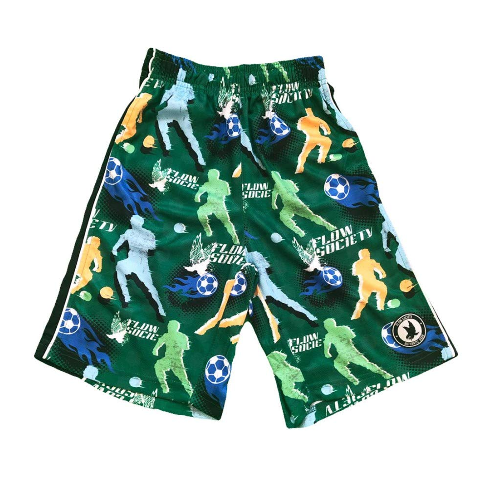 Flow Society Boys Varsity Flow Attack Short Green