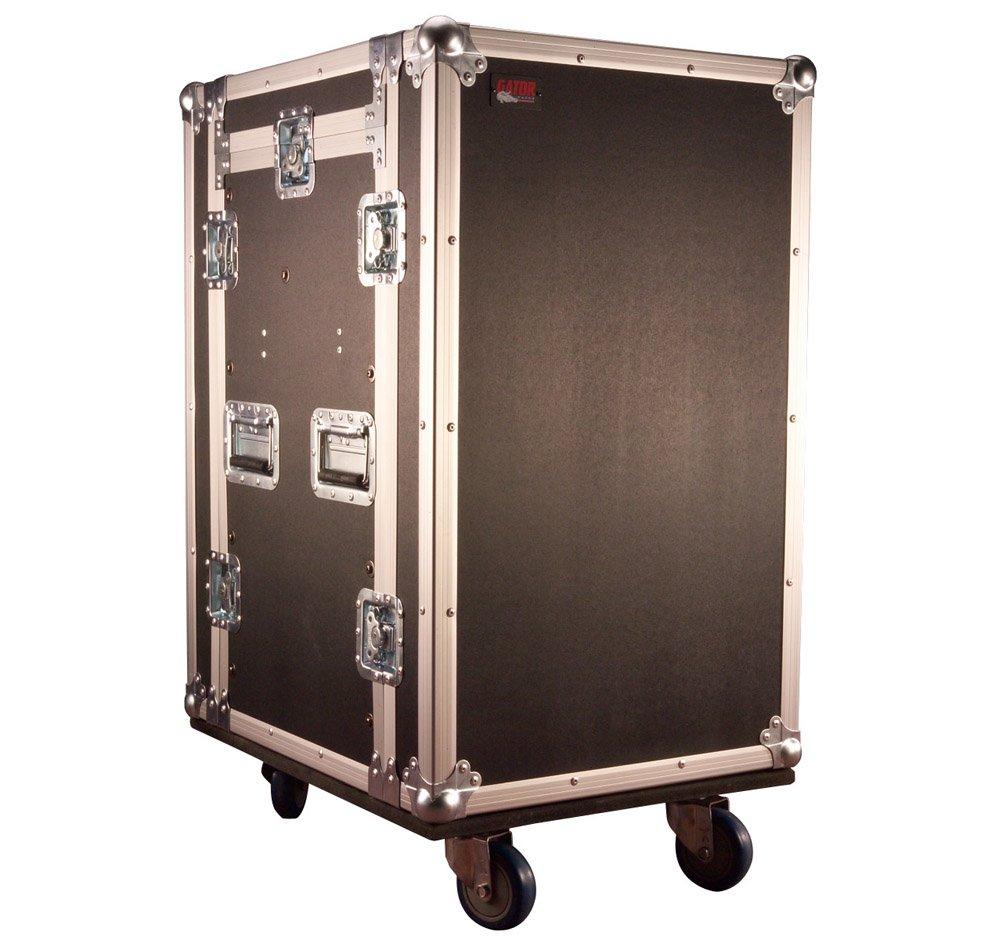 Gator 10U Top, 14U Side Audio Road Rack Case (G-TOUR 10X14 PU)