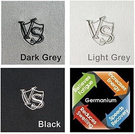 Vital Salveo-Germanium Men Hollow Quick-Drying Warm high-Collar Shirt