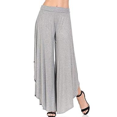 Pantalon Ete Femme Élégant Pantalon De Loisirs Pantalons Palazzo Pantalons  Roche Pantalon Sarouel Pantalon Aladin Danse 33099b0b8883