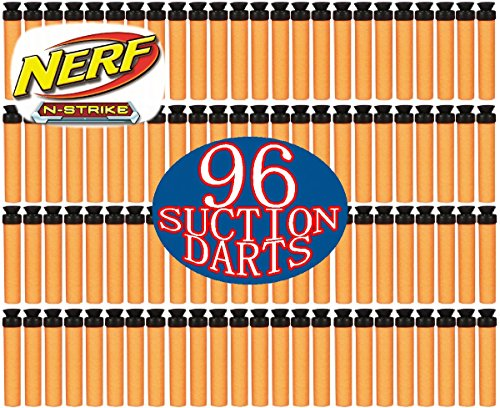 Nerf N-Strike Suction Darts 96 Pack (Nerf Suction Dart Gun compare prices)