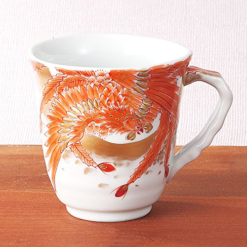 Kutani Yaki(ware) Coffee Mug Phoenix by Kutani
