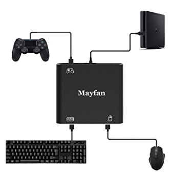 mouse controller keyboard adapter mayfan pubg fortnite battle field and - how to shoot in fortnite on xbox