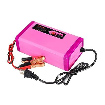 Accesorios De Motos 12V 8A 6AH-120AH Cargador de batería ...