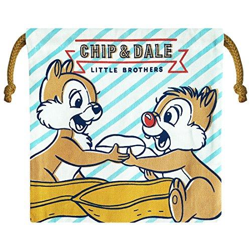 Disney Chip & Dale Drawstring Bag Stripe (Chips String)