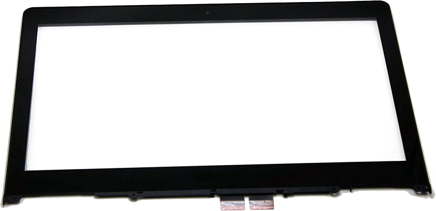 LCDOLED 14.0 inch Replacement Touch Screen Digitizer Front Glass Panel + Bezel for Lenovo Flex 3-14 3-14D 3-1470 3-1480 3-1435 80JK 80R3 80R30016US