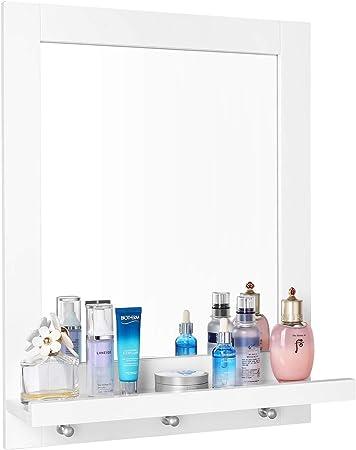 Material - El marco está hecho de MDF de clase E1. Es resistente a la humedad y al moho. El espejo b
