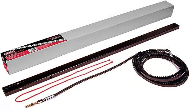 Genie Gen39026r Garage Door Opener Extension Kit For 5 Piece Belt Drive Tube Rails One Size Metallic Amazon Com