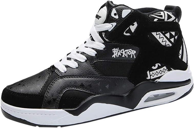 Basket High Top Homme Légère Chaussures De Course Running Mode Confortable Respirantes Fashion Casual Air Cushion Hip hop Sneakers
