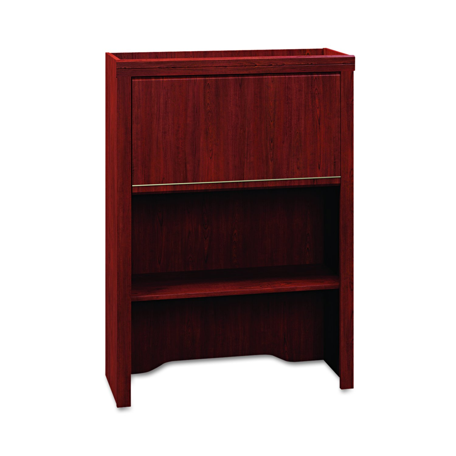 Bush Lateral File Hutch - 30-Inch by 12-Inch by 42-Inch - Harvest Cherry