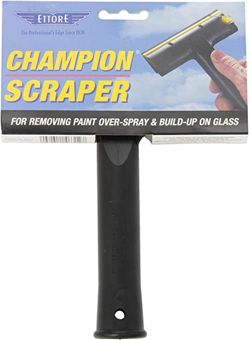 Pack of 6 5-inch Ettore 46312 Champoin Scraper