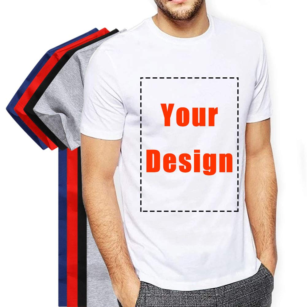 75740d24 Customized T-Shirts Front & Back Add Your Text Message ,Variety of Colors  Available to Express Your Style and Personality.