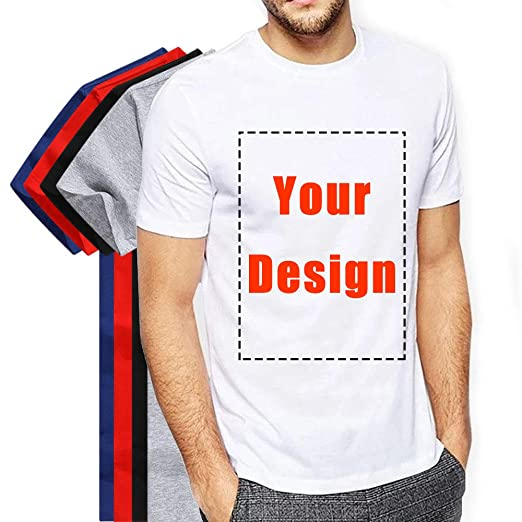 f1ee6c61d943a Personalized Custom T-Shirt Company Uniform Add Your Own Design Team  Activity Unisex Tee