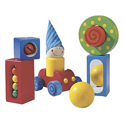 HABA First Blocks - Each One with a Visual or Acoustic Surprise for Ages 1 and Up (Made in Germany): Toys & Games