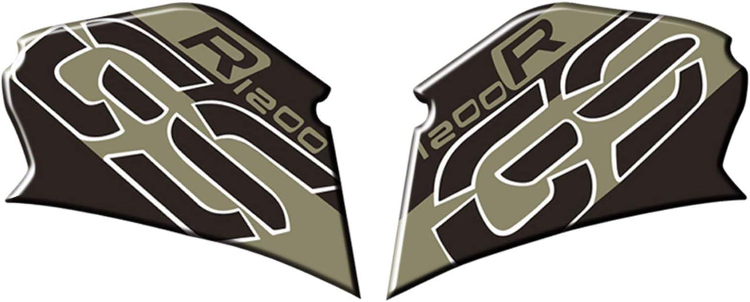 Almohadillas de Repuesto para BMW R1200GS 2008-2012 KKmoon Protector de dep/ósito de Gasolina para Moto Rodillera de tracci/ón Lateral Antideslizante