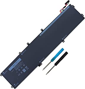 97WH 6GTPY Laptop Battery Compatible with Dell XPS 15 9550 9560 9570 7590 P56F P56F001 Precision 5520 5530 5510 M5520 Vostro 7500 5XJ28 i7-7700HQ 5D91C GPM03 4GVGH 1P6KD 5XJ28 - [Not for SDD/HDD]